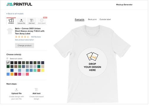 50+ Printful Mockup Customized Product - Candacefaber
