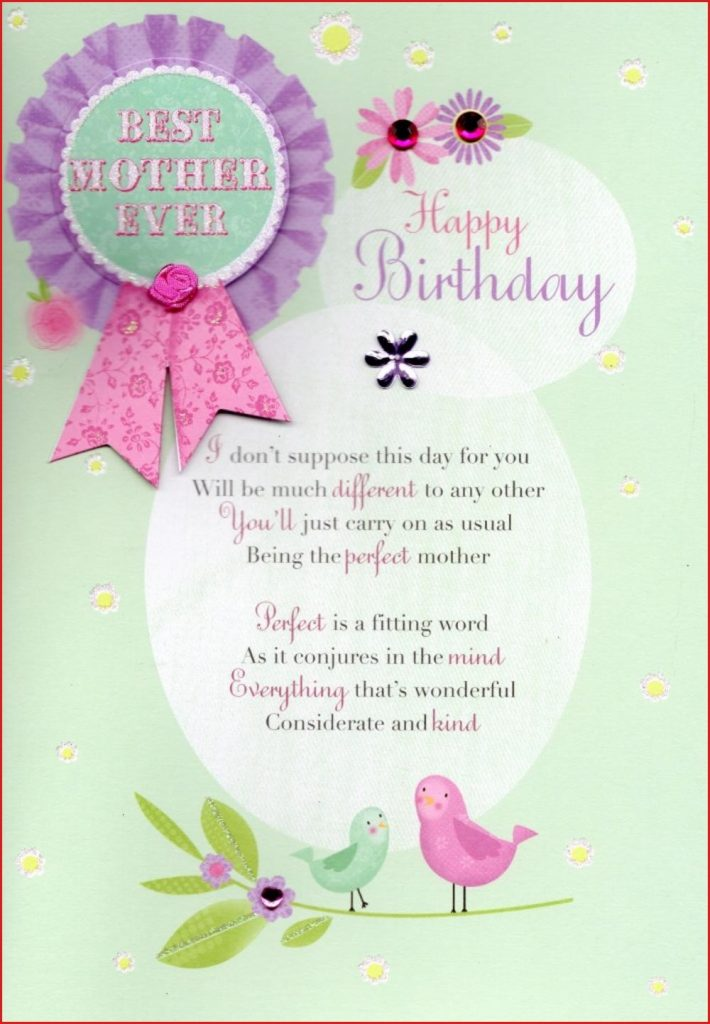 Sensational Valentine Card Design Greeting Happy Birthday Card Mom Personalised Birthday Cards Veneteletsinfo